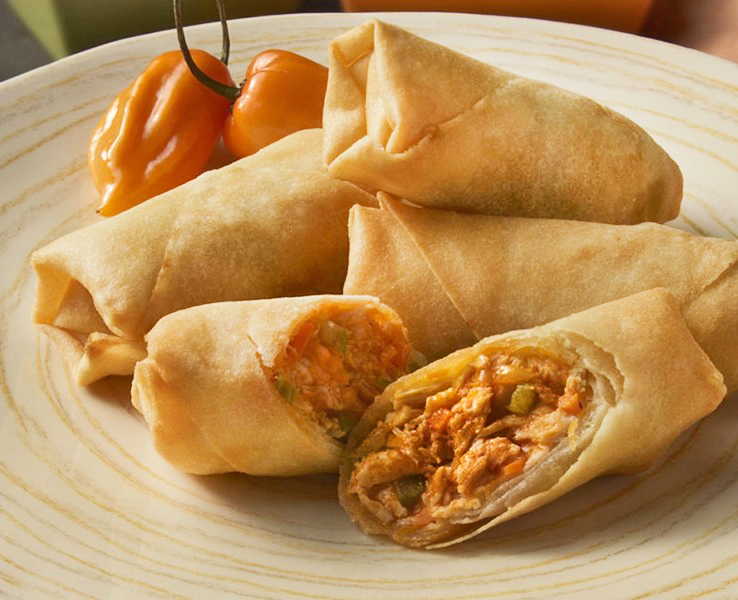 Buffalo Style Chicken Spring Roll
