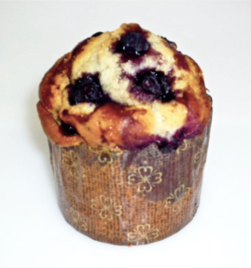 3oz. Blueberry Yogurt Muffin