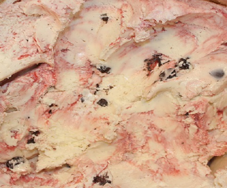 Bassett's Raspberry Truffle Ice Cream