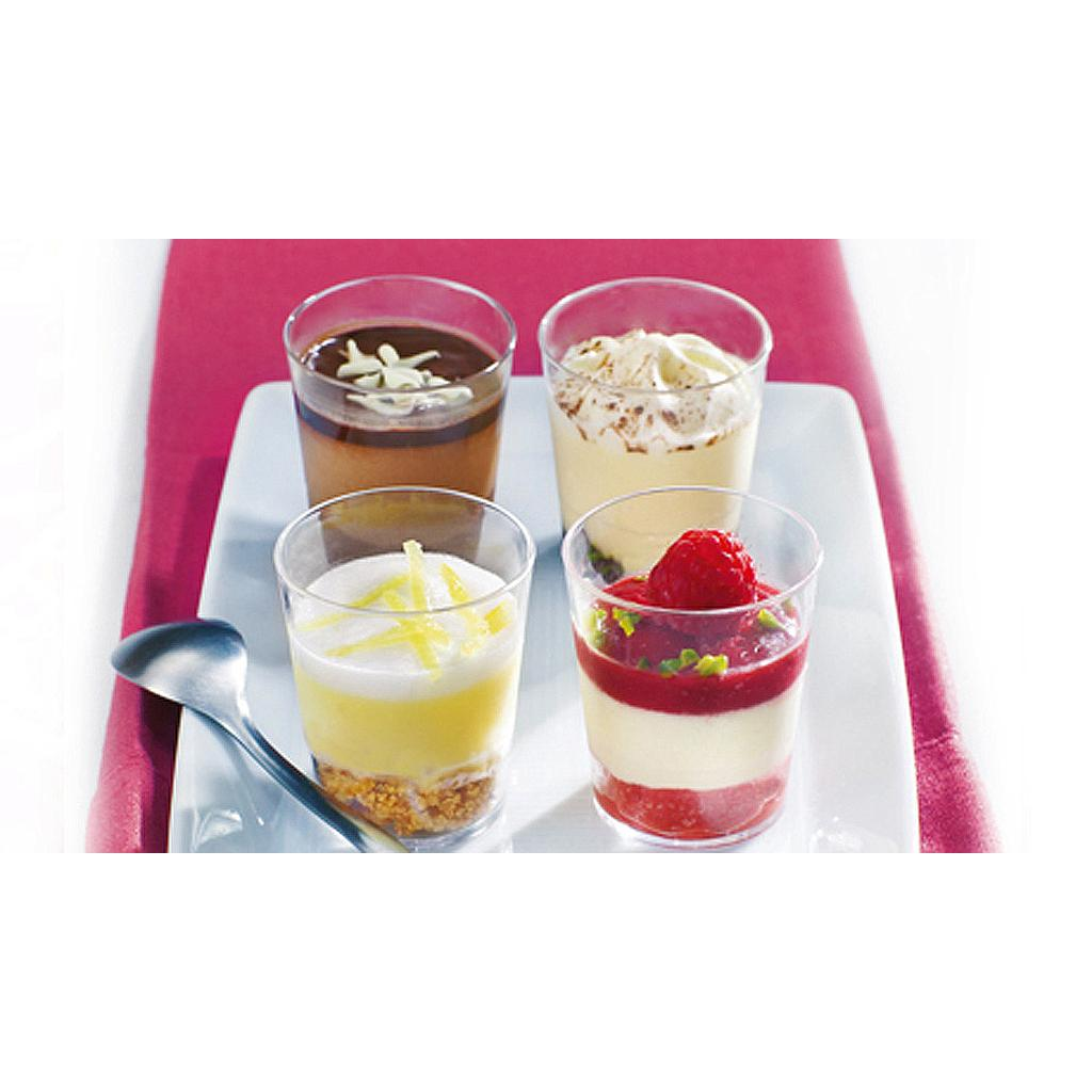 Mini Dessert Cups Shot Glasses Soft Stuff Distributors