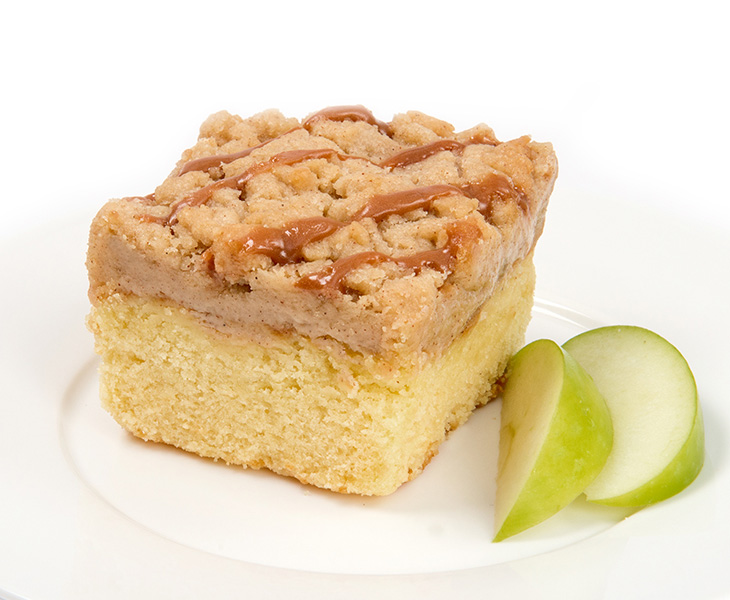 Apple Caramel Crumb Cake