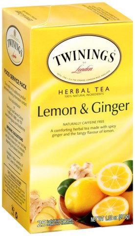 Lemon & Ginger 25ct