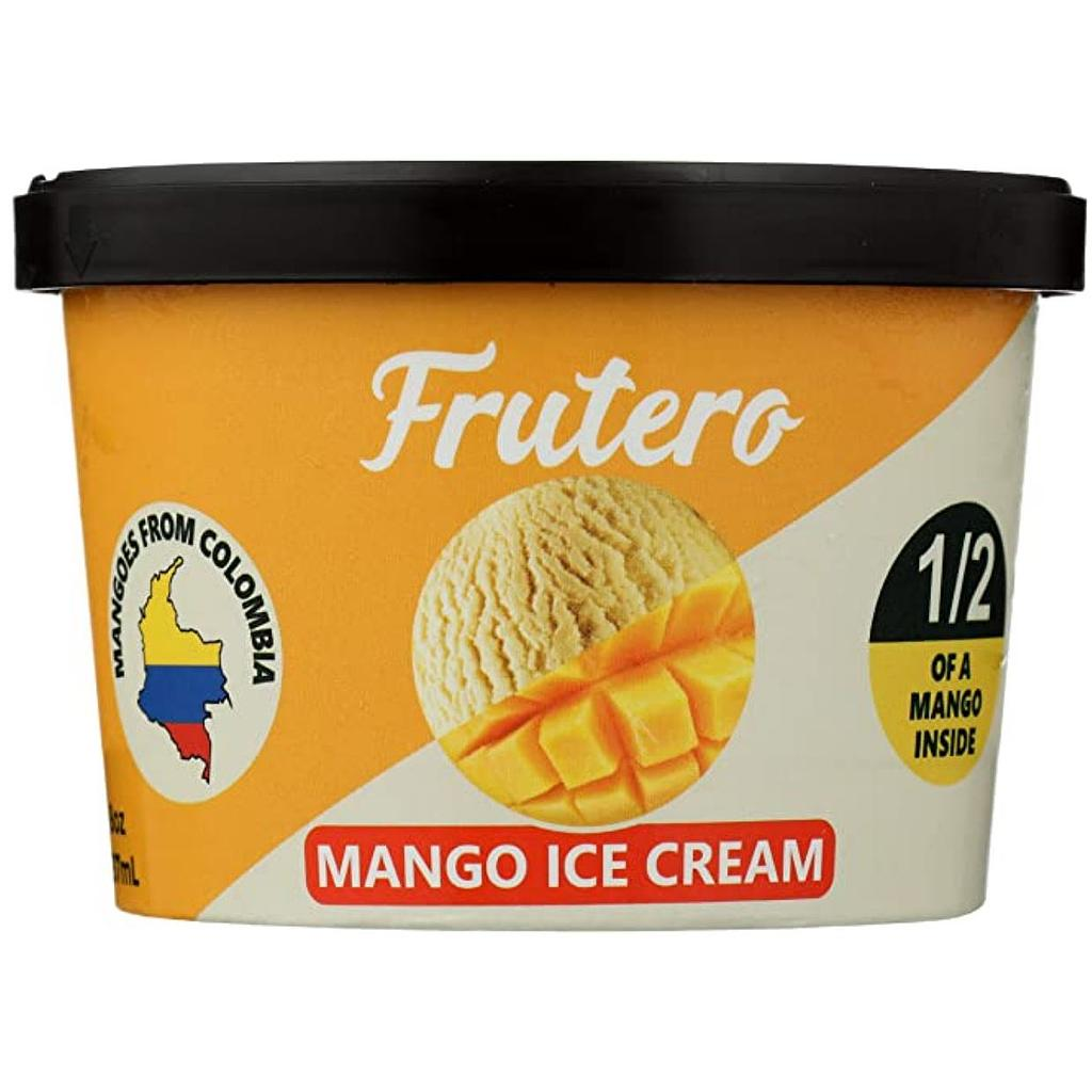Mango Ice Cream Cups CLEAN