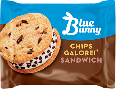 Blue Bunny Chips Galore