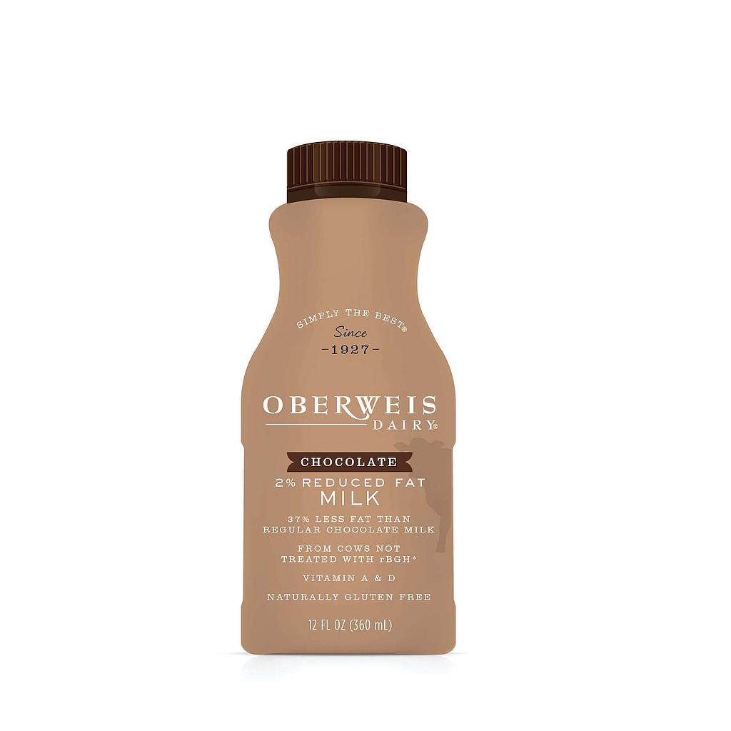 Single Serve Chocolate Milk 2% 12/12oz.